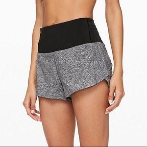 grey lulu shorts